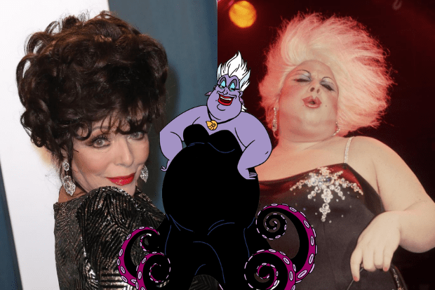 How The Little Mermaid's Ursula went from Joan Collins lookalike to a drag queen