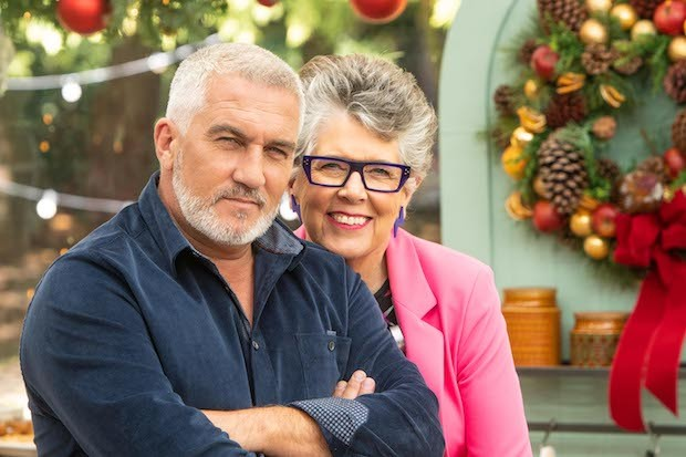Paul and Prue on Bake Off