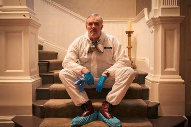 Greg Davies in The Cleaner