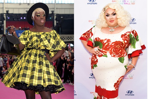 Bob the Drag Queen and Eureka O'Hara