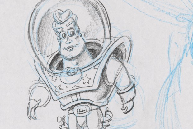 Buzz Lightyear original designs released ahead of Pixar Fest 2020