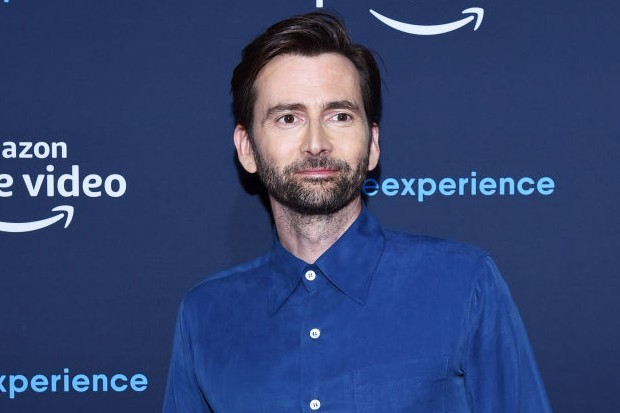 David Tennant, star of Doctor Who, Jessica Jones and Good Omens, at an Amazon Prime event