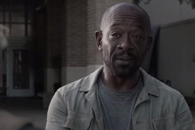 Lennie James plays Morgan in AMC's Fear The Walking Dead