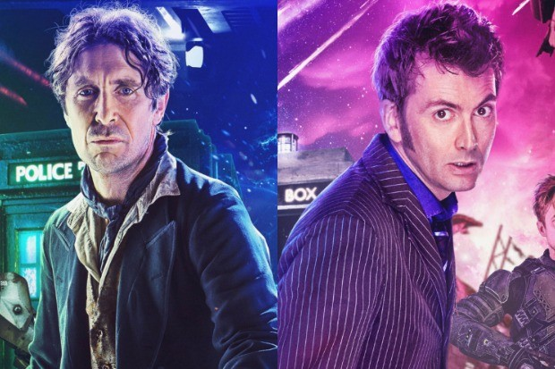 Doctor Who: Time Lord Victorious – Paul McGann and David Tennant