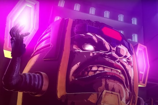 Marvel character MODOK, as seen in Marvel vs Capcom 3