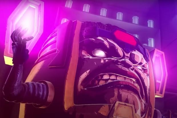 Marvel character MODOK, as seen in Marvel vs Capcom 3