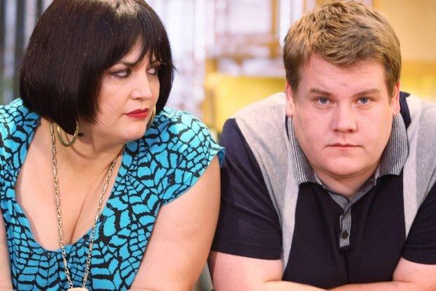Ruth Jones and James Corden in Gavin & Stacey