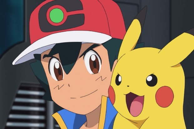 Ash Ketchum and Pikachu in Pokemon: Journeys on UK channel POP