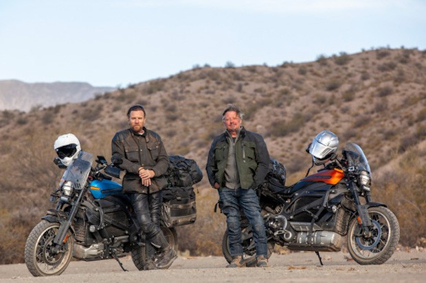 Ewan McGregor and Charley Boorman in Long Way Up