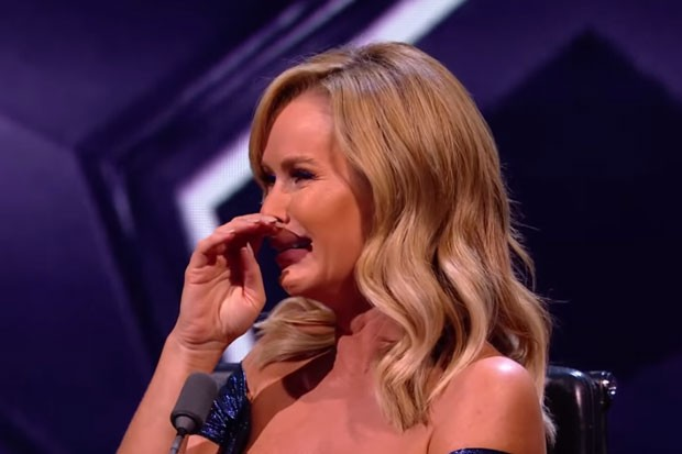 Britain's Got Talent Amanda left in tears after Jon Courteney dad tribute