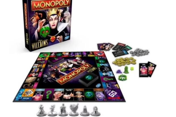 Monopoly releases Disney Villains edition so you can steal your way to winning