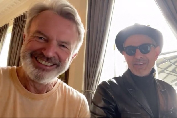 Jeff Goldblum, Sam Neill