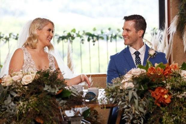 Married at First Sight Australia's Lauren and Matthew