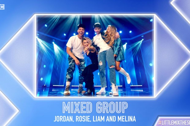 Little Mix: The Search mixed group