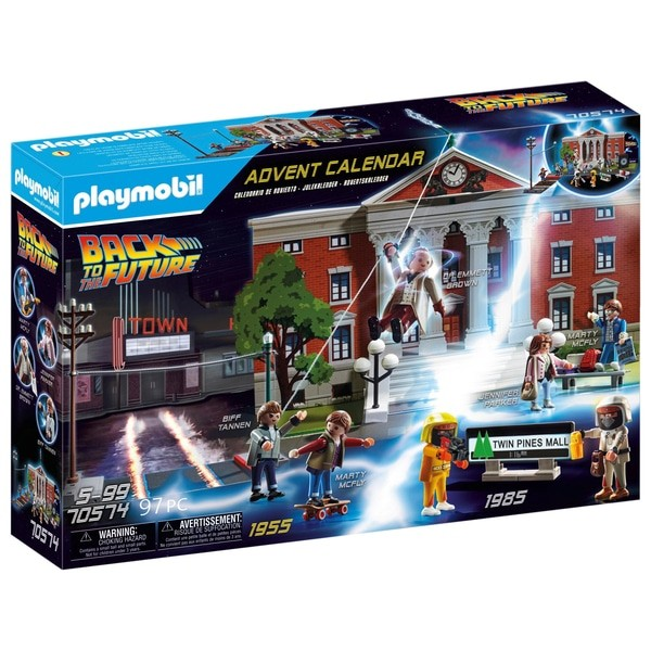 Lego Calendar May 2021 Playmobil launches Back to the Future advent calendar   Radio Times
