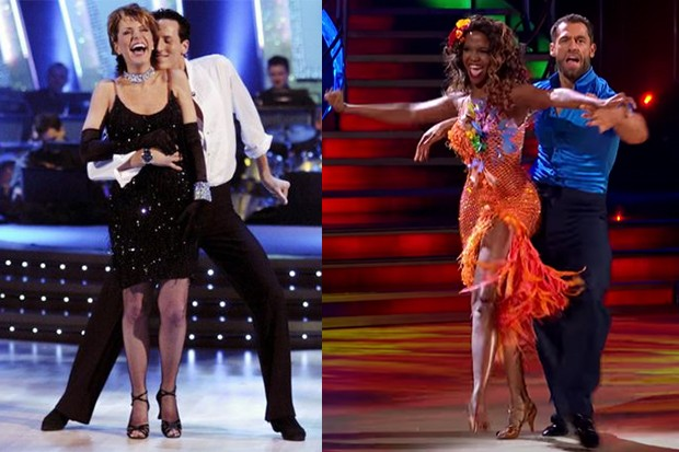 Strictly Come Dancing series 1 and 17
