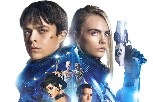 Valerian And The City Of A Thousand Planets - Key Art