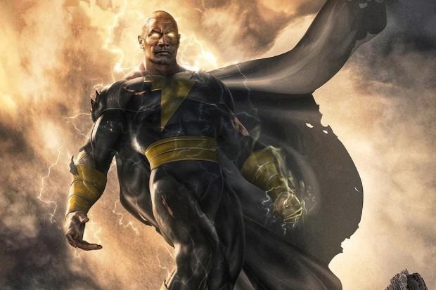 Dwayne Johnson stars in Black Adam (DC Comics)