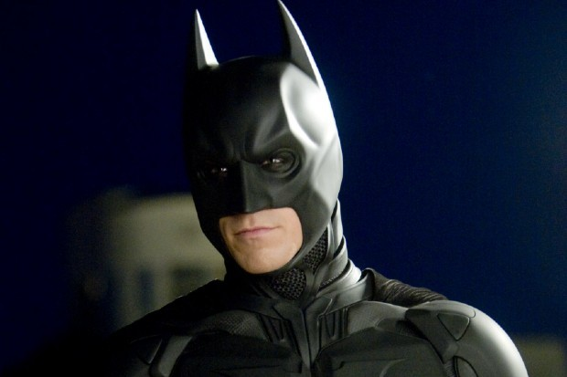 Christian Bale plays Batman in The Dark Knight