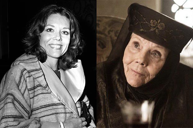 game of thrones team reveal diana rigg s on set command and mischief radio times game of thrones team reveal diana rigg