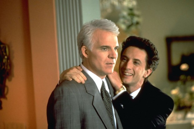 Steve Martin and Martin Short in Father of the Bride