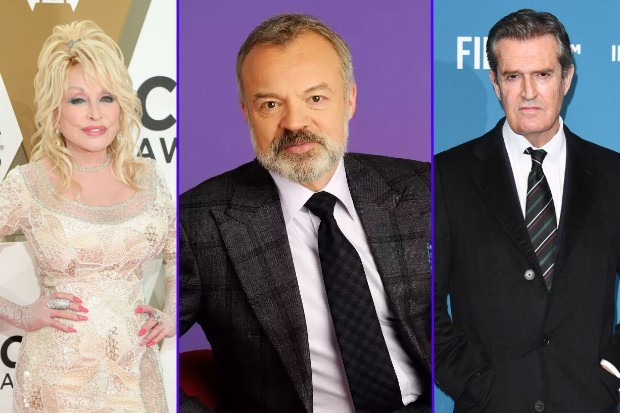 The Graham Norton Show returns to BBC One with guests including Dolly Parton and Rupert Everett