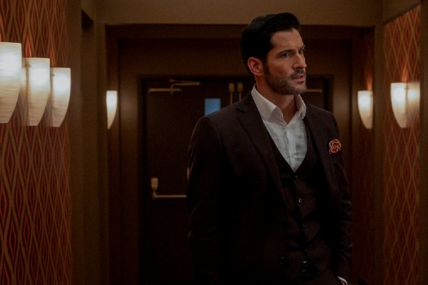 Tom Ellis plays Lucifer Morningstar on Netflix's Lucifer season 5