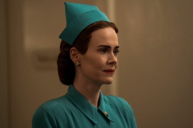 Sarah Paulson stars as Nurse Ratched in Netflix's Ratched