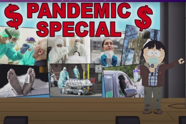 South Park 2020 series, coronavirus (COVID-19) special episode