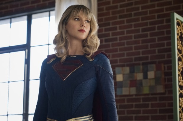 Melissa Benoist plays Supergirl in The CW's DC Comics series