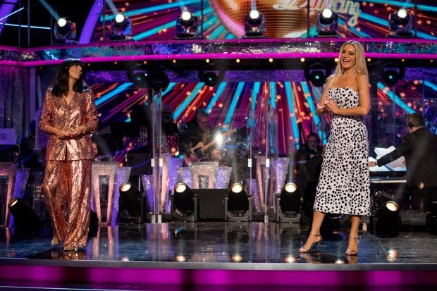 Who is performing on Strictly Come Dancing