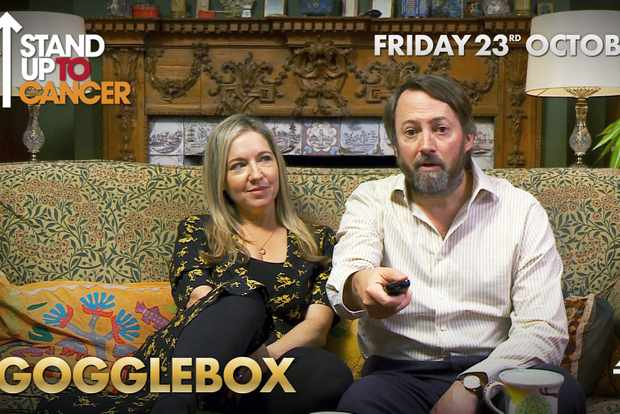 Celebrity Gogglebox - Victoria Coren Mitchell & David Mitchell