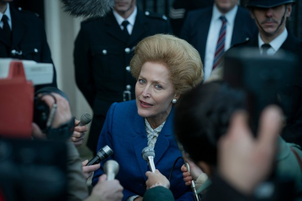 """Gillian Anderson says she """"put aside all preconceptions"""" to play Margaret Thatcher in The Crown"""