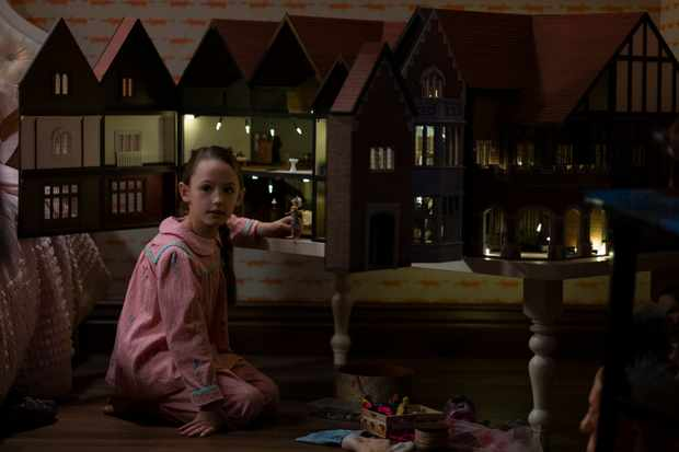 Amelie Smith plays Flora Wingrave