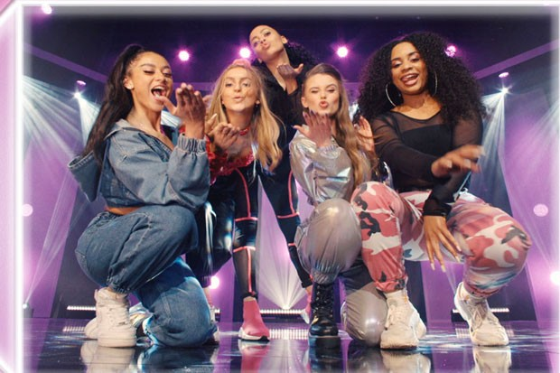 Little Mix: The Search girl dance group