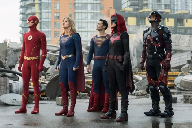 Crisis on Infinite Earths (DC Comics Arrowverse crossover on The CW)