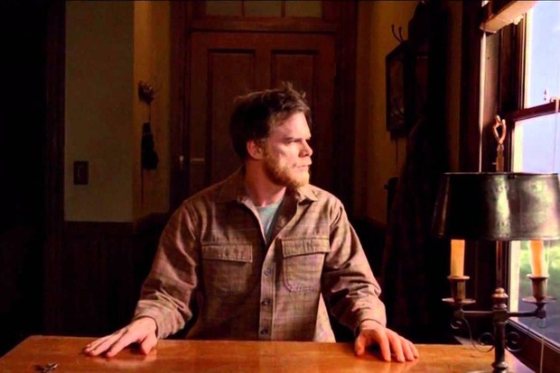 Dexter (Michael C Hall) in the series finale
