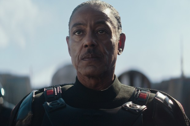 Giancarlo Esposito stars in The Mandalorian as Moff Gideon
