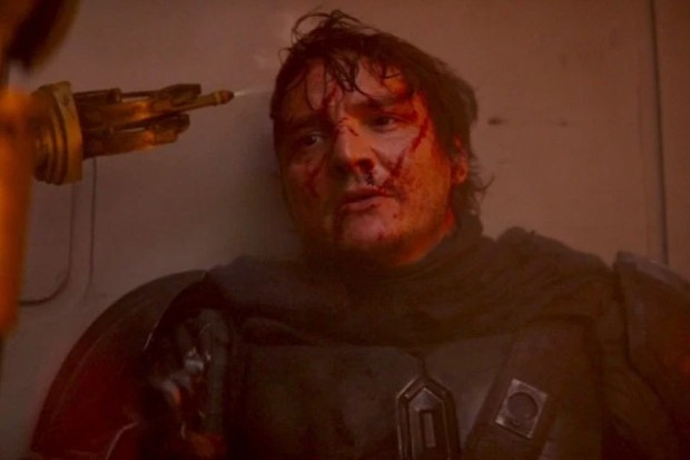 Pedro Pascal in The Mandalorian
