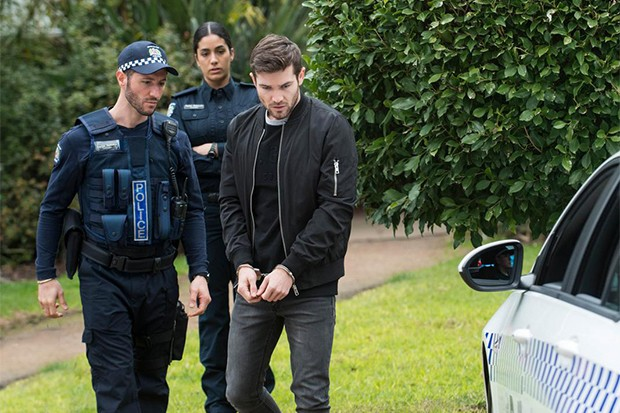 ned arrested neighbours