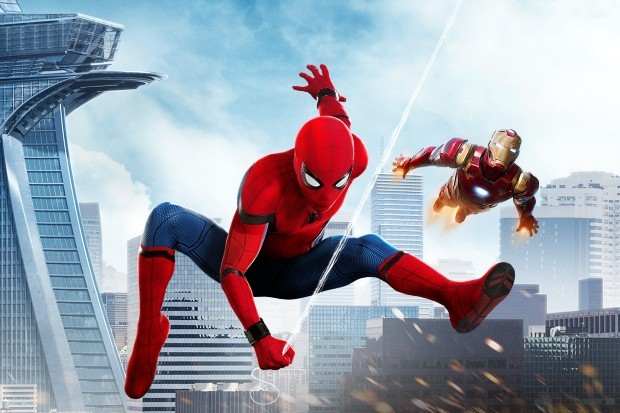 Spider-Man: Homecoming (2017) stars Tom Holland and Robert Downey Jr