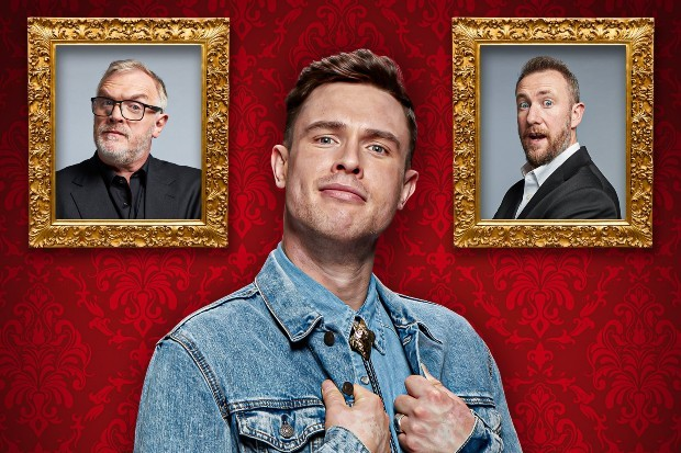 Comedian Ed Gamble hosts the Taskmaster official podcast