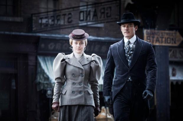 Luke Evans and Dakota Fanning star in The Alienist on Netflix