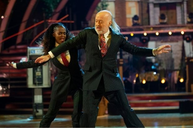 Bill Bailey on Strictly