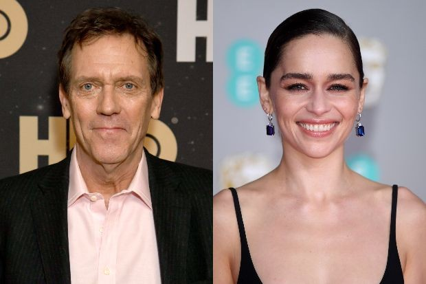 Hugh Laurie and Emilia Clarke join cast for Terry Pratchett's The Amazing Maurice film
