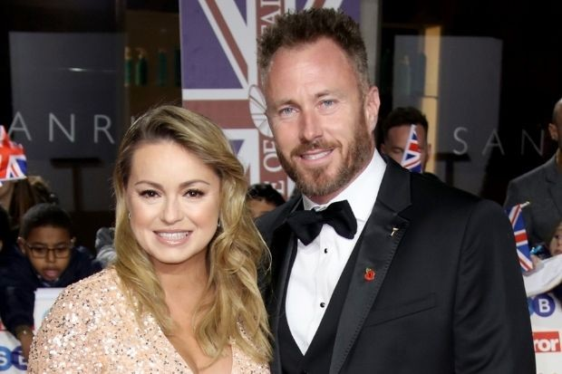 Former Strictly Come Dancing pro James Jordan with Ola Jordan
