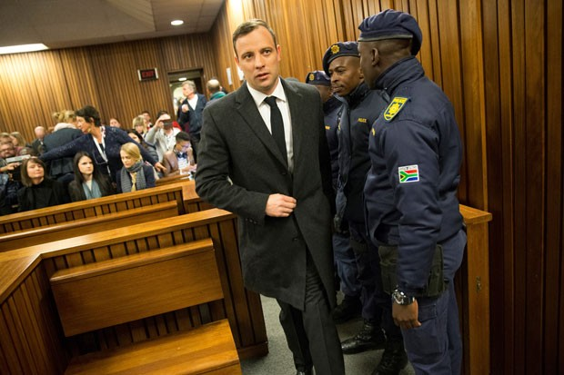 Where is Oscar Pistorius now?