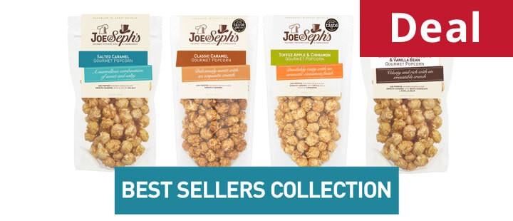 Joe & Seph's Gourmet Popcorn Best Sellers Collection