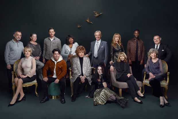 Coronation Street cast, new and old (ITV)
