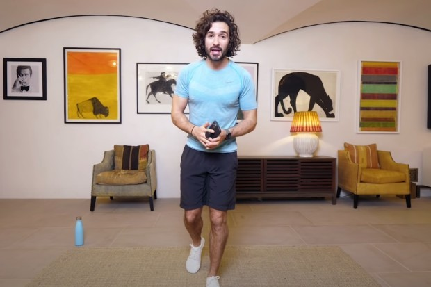 Joe Wicks in YouTube workout series Wake Up with Joe